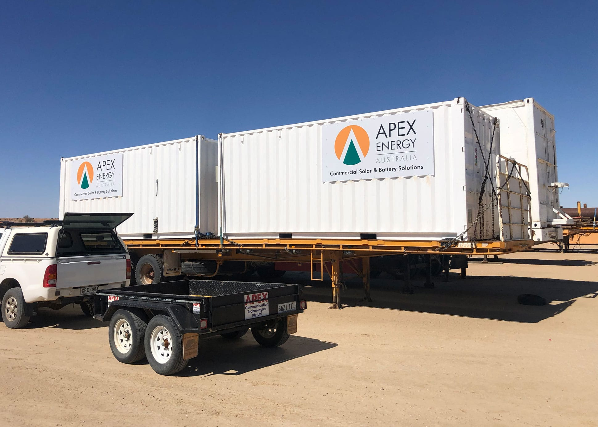 apex energy containerised battery storage