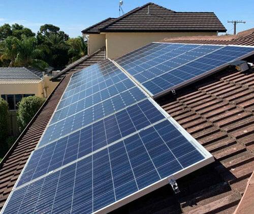 apex grid connected solar panels
