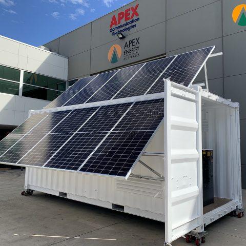 Apex Energy Retractable PV array