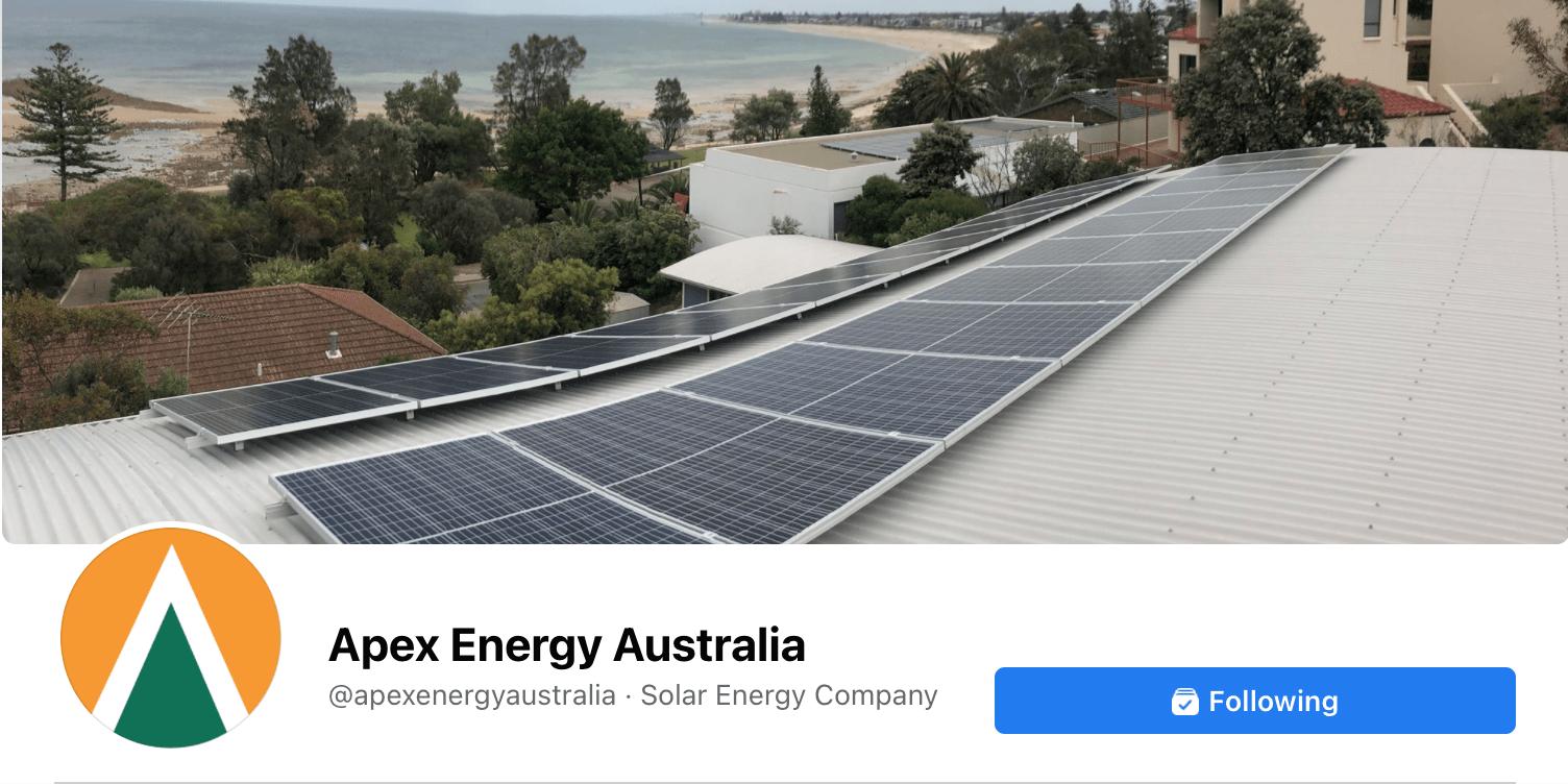 Apex Energy Australia Facebook